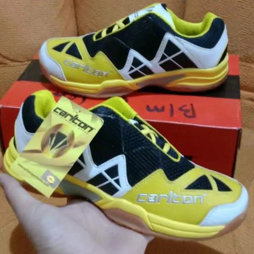 Foto Produk Carlton kuning..murah, sepatu badminton - Kuning, 39 dari BerkahShoes123