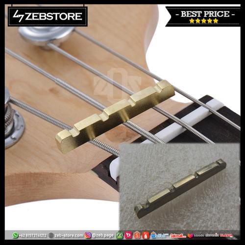 Foto Produk Nut Bass Metal 4 String Gold dari Zeb Hobbies Store