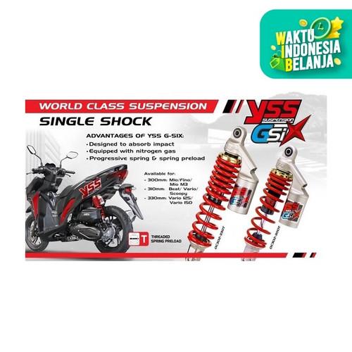 Foto Produk Shockbreaker Sok Yss Tabung Vario 125 Vario 150 G-Six 330mm dari Lestari Motor 2