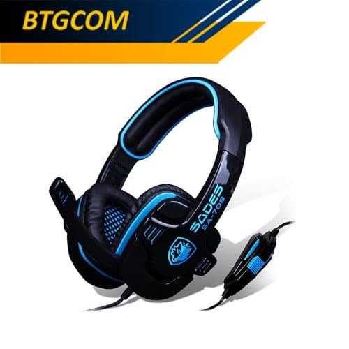 Foto Produk Sades GPower SA-708 Gaming Headset / G-Power SA708 dari BTGCOM