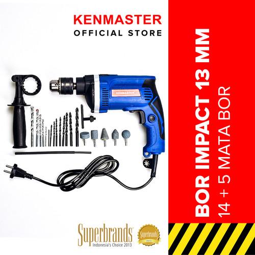 Foto Produk Kenmaster Bor Impact Drill 13MM With Box - Bor Listrik dari Kenmaster Official