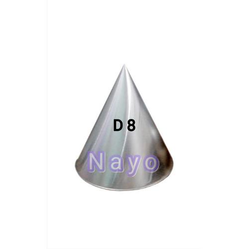 Foto Produk Cetakan tumpeng mini D 6cm dan D 8cm/ Cetakan tumini aluminium - Diameter 8 dari NAYO Topgrosir