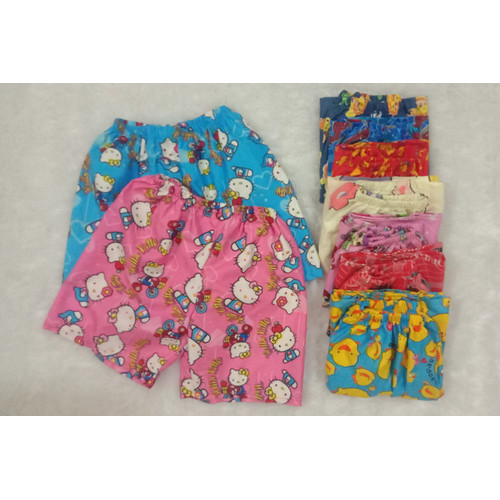Foto Produk Celana pendek celana karakter anak perempuan usia 3-5 tahun size M - Anak Perempuan dari kidd0store