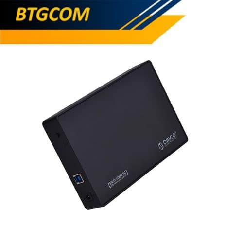 Foto Produk Orico 3588US3 3.5 Inch USB 3.0 SATA Harddisk HDD Enclosure Casing Case dari BTGCOM