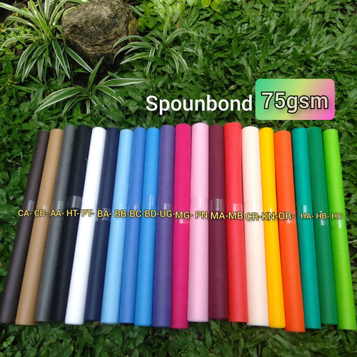Foto Produk bahan kain spunbond furing pur sponbond meteran 160cm x 1meter 75gsm dari Gudang Electronic & Cell