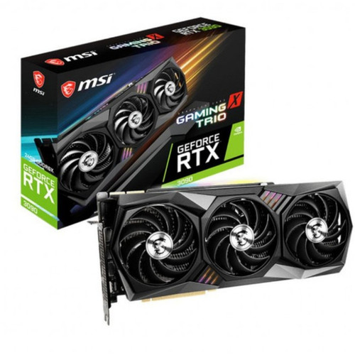 Foto Produk MSI GEFORCE RTX 3090 GAMING X TRIO 24G | GeForce RTX 3090 24GB GDDR6X dari chandut