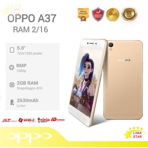 Foto Produk Oppo A37 2/16GB - Kuning dari LimaStar