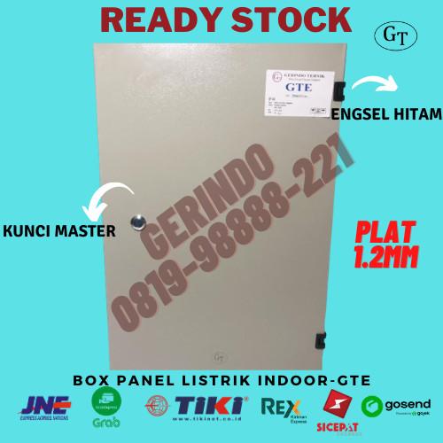 Foto Produk Box Panel Listrik 30x20x15cm Indoor dari Panel Stainless Indo