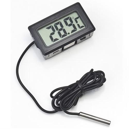Foto Produk Taffware Termometer Digital Serbaguna Temperatur Suhu Ruangan - Hitam dari Gadget Therapy