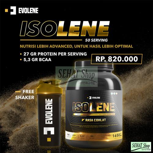 Foto Produk Evolene ISOLENE 50 SACHET - Whey Protein Isolate Susu Fitness dari Sehat Shop Semarang