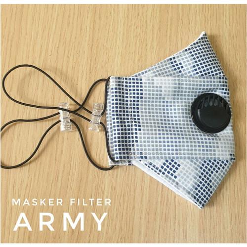Foto Produk Masker 3D earloop Army dari shade_butik