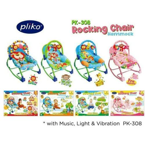 Foto Produk BOUNCER PLIKO ROCKING CHAIR HAMMOCK AYUNAN DUDUKAN SANTAI BAYI MURAH dari Sweet Baby Shopping