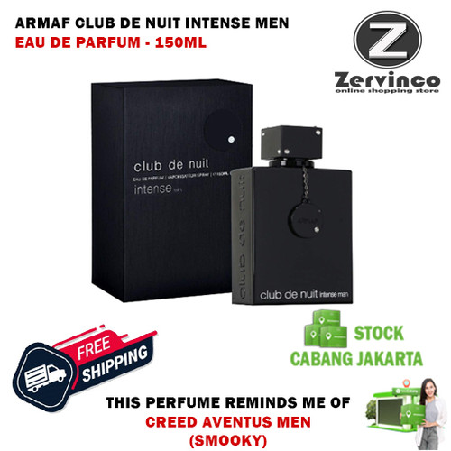 Foto Produk Armaf Club De Nuit Intense For Men EDP 150ml - [BIG SIZE] dari Zervinco Parfum Asli