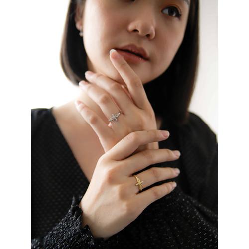 Foto Produk Dear Me - Yeona Ring 925 Sterling Silver with 18k Gold Plated Cincin dari Dear Me Jewelry