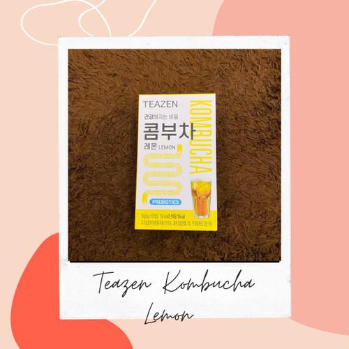 Foto Produk Teazen Kombucha Lemon/Berry/Citron 10sticks - Lemon dari KCHINGU