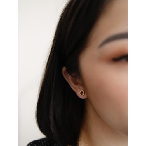 Foto Produk Dear Me - Virginia Earring 925 Sterling Silver 18k Gold Plated dari Dear Me Jewelry