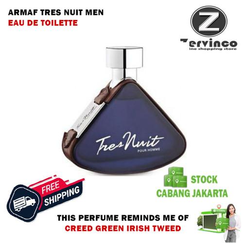 Foto Produk Armaf Tres Nuit For Men Edt 100ml - Creed Tweet Green Iris Killier dari Zervinco Parfum Asli