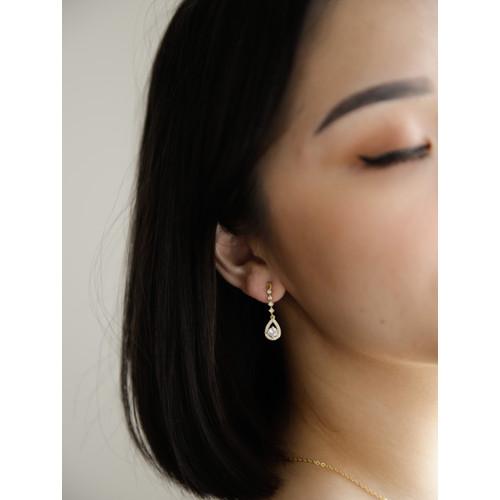 Foto Produk Dear Me - Paula Earring 925 Sterling Silver 18k Gold Plated dari Dear Me Jewelry