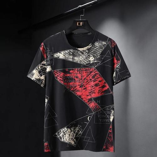 Foto Produk Kaos Pria Distro Lengan Pendek Kayser Morten Terlaris T-Shirt Keren - Merah, M dari Kayser_Shop