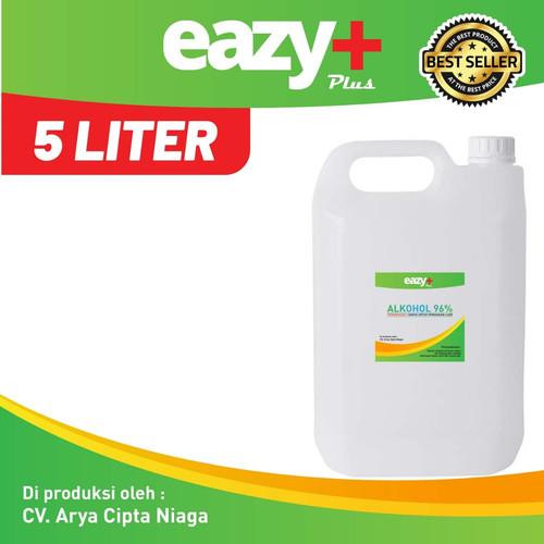 Foto Produk Alkohol 96% 5 Liter Cairan disinfektan Alkohol teknis dari Arya Sportivo
