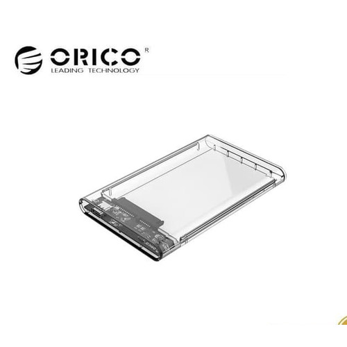 Foto Produk ORICO 2139C3-G2 2.5in Transparent Type-C 3.1 Gen2 HardDrive Enclosure dari Surya Mitra Online