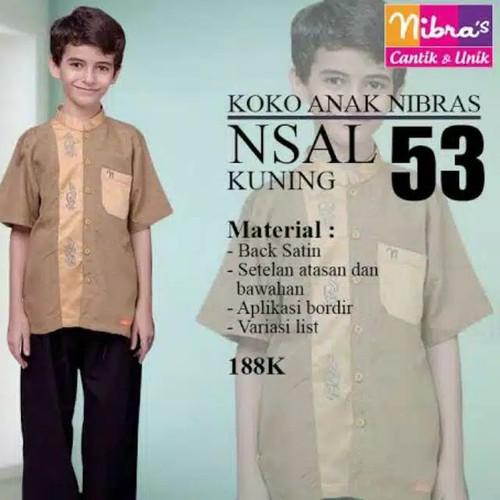Foto Produk Setelan Koko Anak NSAL 53 by Nibras dari kedai berkah