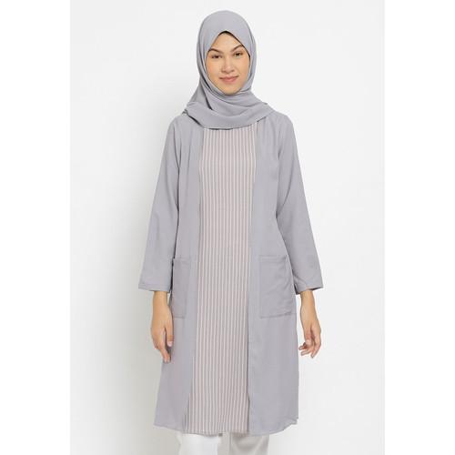 Foto Produk Hassenda - Puricia Dress Muslim Wanita Zivah - S dari Hassenda Group