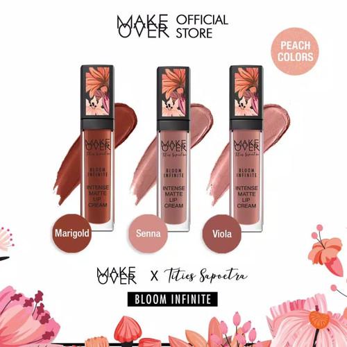 Foto Produk MAKE OVER X Tities Sapoetra Intense Matte Lip Cream dari Koreaworld