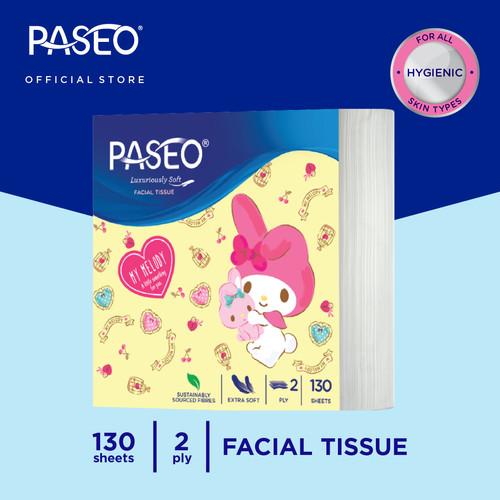 Foto Produk Paseo Character Tissue Wajah Pop Up Sanrio 130 Sheets dari Paseo Tissue Official