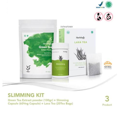 Foto Produk Herbilogy Paket Slimming Kit Dengan Green Tea dari Fatih Kitchen