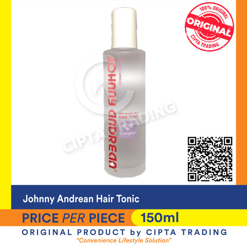 Foto Produk Hair Tonic - Johnny Andrean-Hair Tonic Growth & Strength 150ml (each) dari Cipta Trading