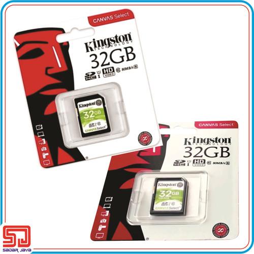 Foto Produk Kingston Canvas Select SD Card 32GB Kartu Memori Kamera Poin & Shoot dari Sadar Jaya Mandiri