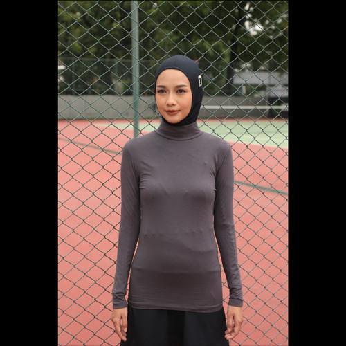 Foto Produk Sportwear Inner Mockneck Diario Active - Serial Grey, S dari diario