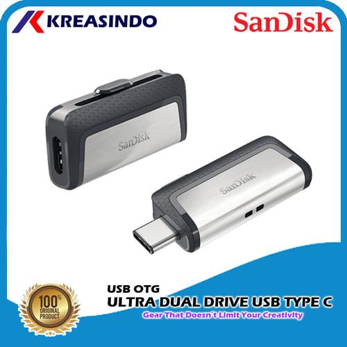 Foto Produk Sandisk Otg Ultra Dual Drive Usb Type-C 32gb 64gb 128gb 256gb 512gb - 32gb dari Kreasindo Online