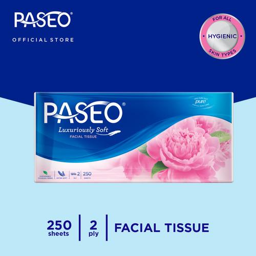 Foto Produk Paseo Elegant Tissue Wajah Soft Pack 250 Sheets dari Paseo Tissue Official