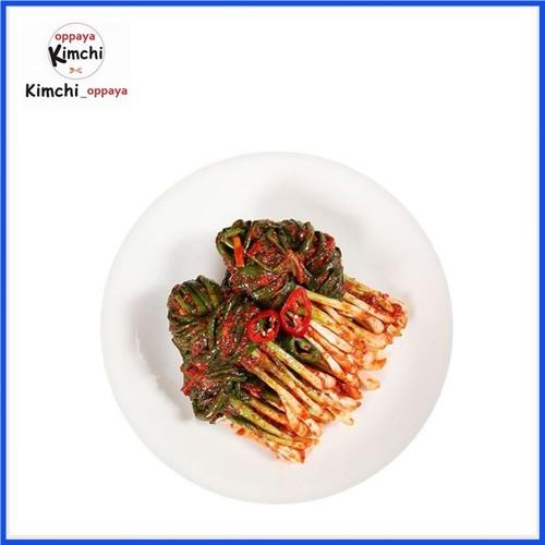 Foto Produk Kimchi Daun Bawang 200 G Dibuat Oleh Chef Korea dari kimchi oppaya