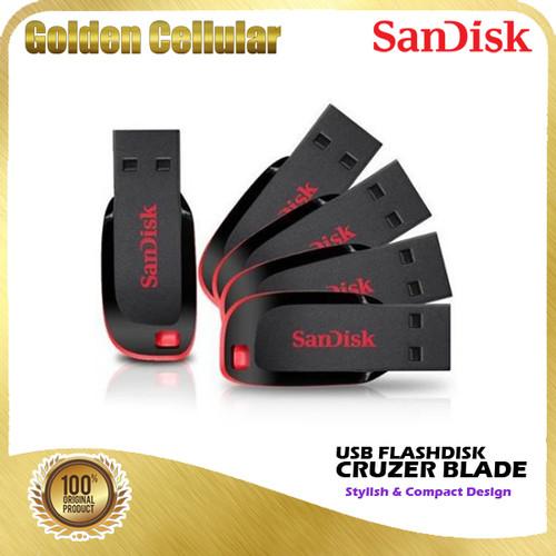 Foto Produk Sandisk Cruzer Blade USB Flashdisk 16gb 32gb 64gb 128gb 256gb 512gb - 16 gb dari Golden Cellular