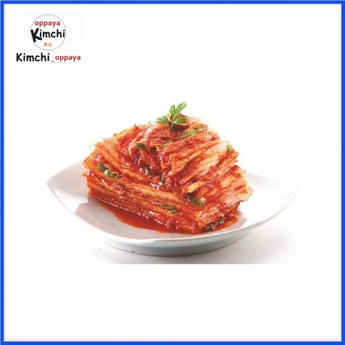 Foto Produk [Fresh] kimchi sawi original authentic korea 200g Halal dari kimchi oppaya