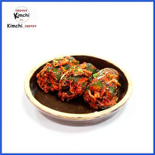 Foto Produk Kimchi Timun Fresh 200 G Dibuat Oleh Chef Korea... dari kimchi oppaya