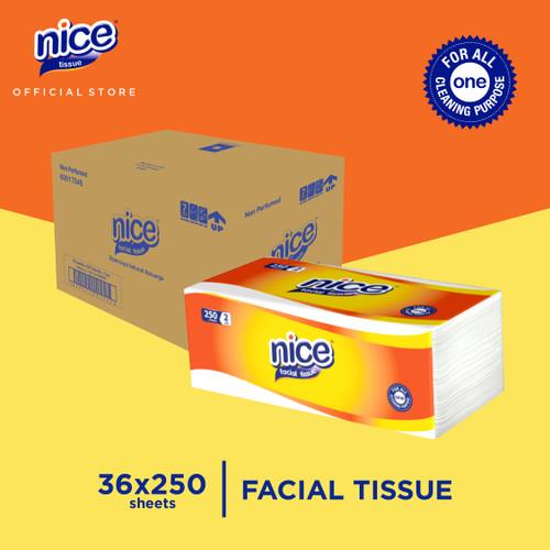 Foto Produk Karton - Nice Tissue Wajah Soft Pack 250 Sheets x 36 pcs dari Paseo Tissue Official