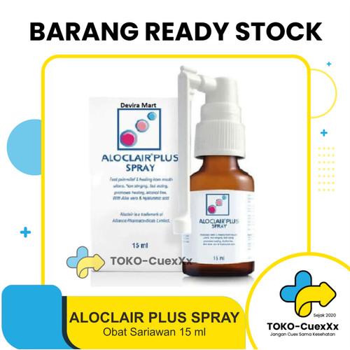 Foto Produk Aloclair Spray 15ml Obat Spray Sariawan Alami dari TOKO-CuexXx