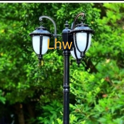 Jual Lampu Hias Taman Tiang Cabang 3 031 Dekorasi Taman Lapangan Hitam Jakarta Barat Universal Lhw Tokopedia