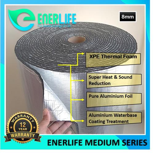 Foto Produk Peredam Panas Atap - Aluminium Thermal Foam 8mm Double EnerLife M-8A2 dari Energy Life Indonesia