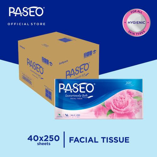 Foto Produk Karton - Paseo Elegant Tissue Wajah Soft Pack 250 Sheets x 40 pcs dari Paseo Tissue Official