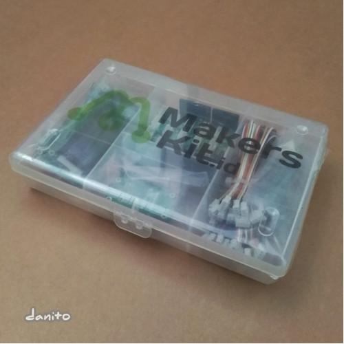 Foto Produk Makers Starter Kit MakersKit with Port Expander for Arduino dari danito