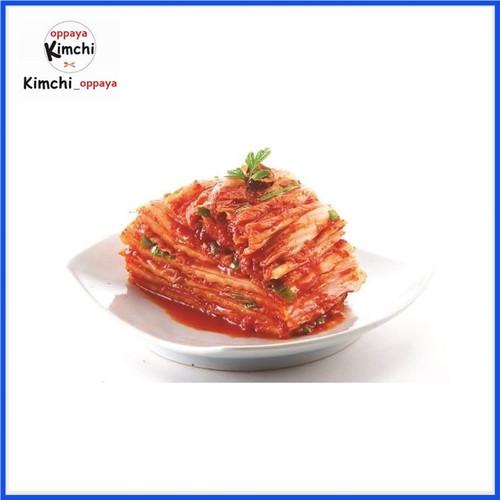 Foto Produk kimchi authentic korea 1Kg Halal dibuat oleh chef korea. dari kimchi oppaya
