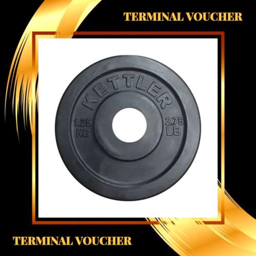 Foto Produk plate rubbered kettler 1.25kg dari terminal voucher