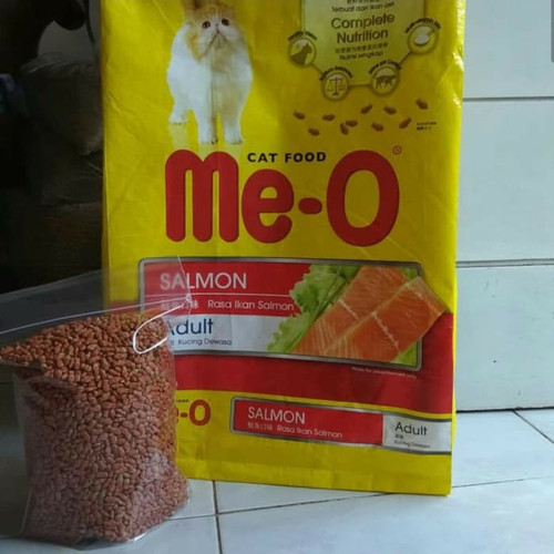Foto Produk MEO SALMON REPAK 1 KG - MAKANAN KUCING dari Beby cat dog shop