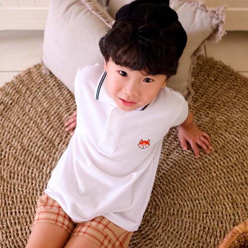 Foto Produk Polo Shirt Polos Anak - Anak   P002 by Little Jergio - 2XL dari Little Jergio
