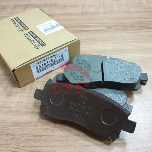 Foto Produk BRAKE DISC PAD - KAMPAS REM DEPAN AVANZA XENIA dari TIGER AUTOMOTIVE PARTS
